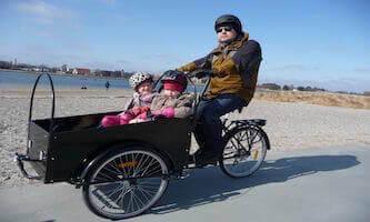 The cargo bike