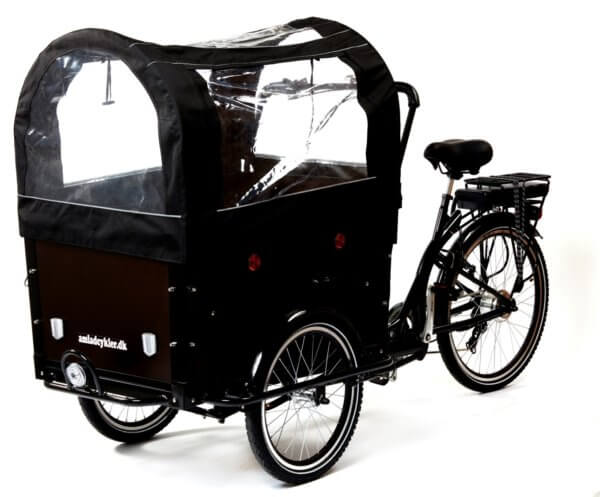 Canopy Electric Cargo Bike