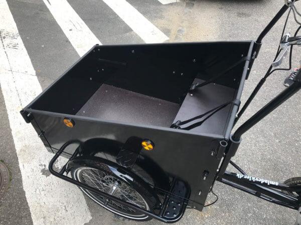 Classic cargo bike - Low box