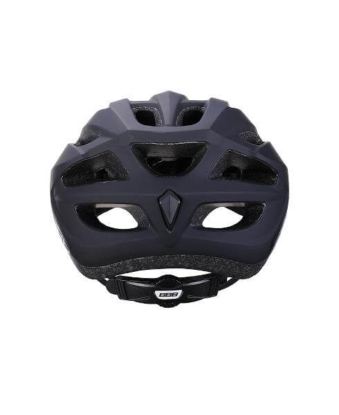 Bike Helmet – Black – Adult - rear look