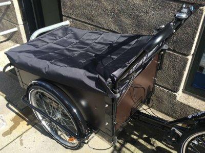 Rain cover for Cargo bike