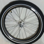 Front wheel 20 for electric cargo bike