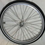 Front wheel 24 for cargo bike