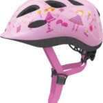childrens bike helmet pink