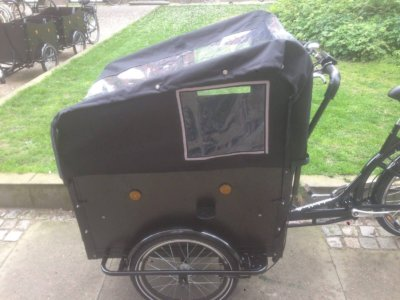 Electric Cargo bike Bugatti canopy