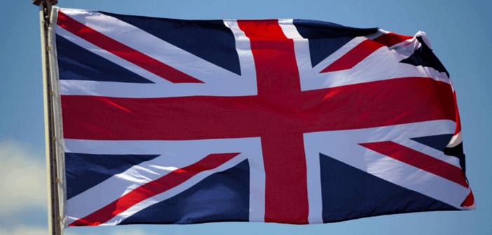 Engelsk flagrende flag