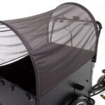 Cargo bike sunscreen