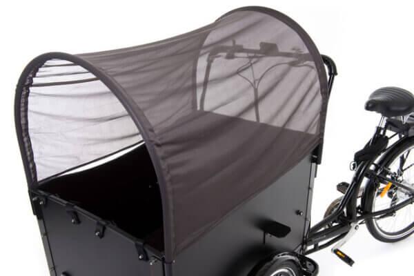 Cargo bike sunscreen
