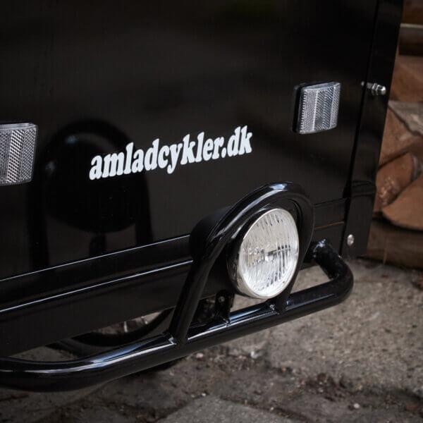 Front Lamp for cargo bike Amcargobikes