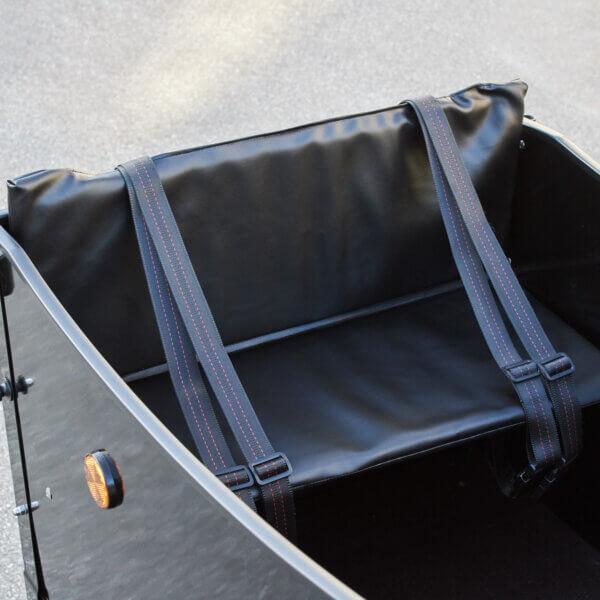 Pillow for cargo bench Deluxe Amcargobikes