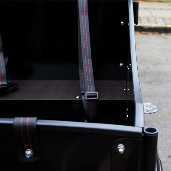 Lipping for cargobike Amcargobikes