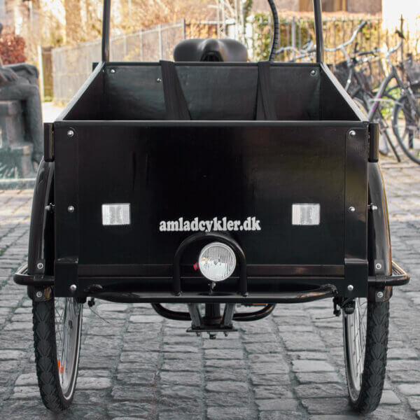 Wood Panel to the Box on a Cargo Bike Amcargobikes