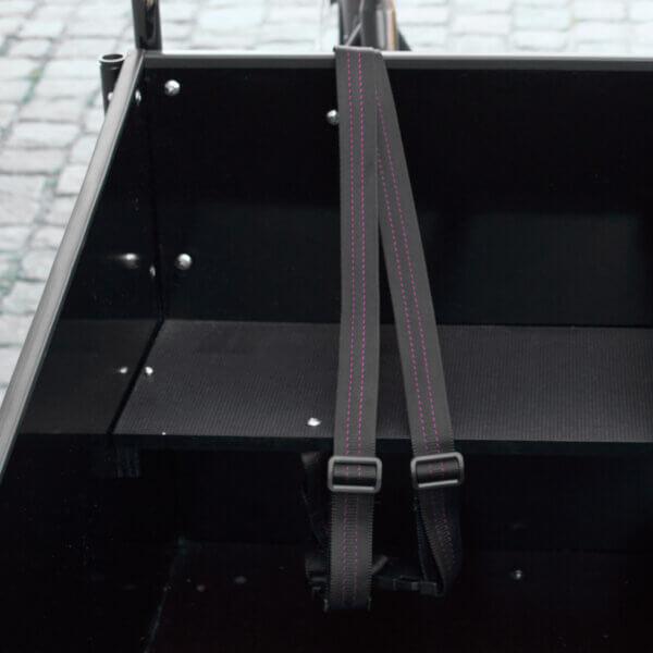 Harness for Cargo Bike – Two Point Belt (V-model) Amcargobikes