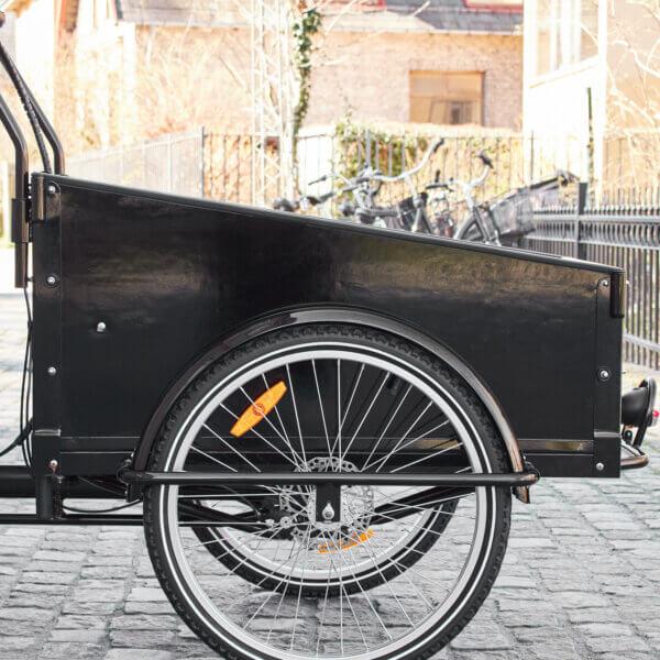 Wood Panel Box for Cargo Bikes Amcargobikes