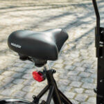 Saddle (Luxus) – Black Leather Amcargobikes
