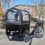 Canopy Electric Cargo Bike Amcargobikes