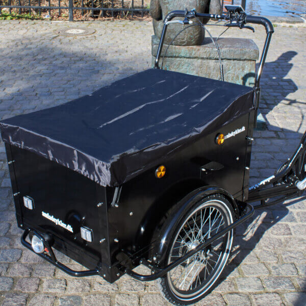 Rain Cover for the Box on your electric Cargo Bike Amcargobikes