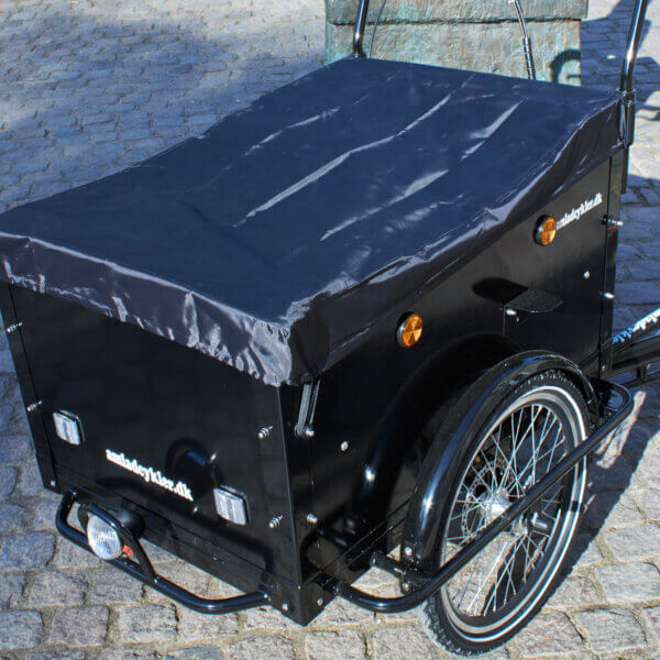 Rain Cover for the Box on your Cargo Bike Amcargobikes