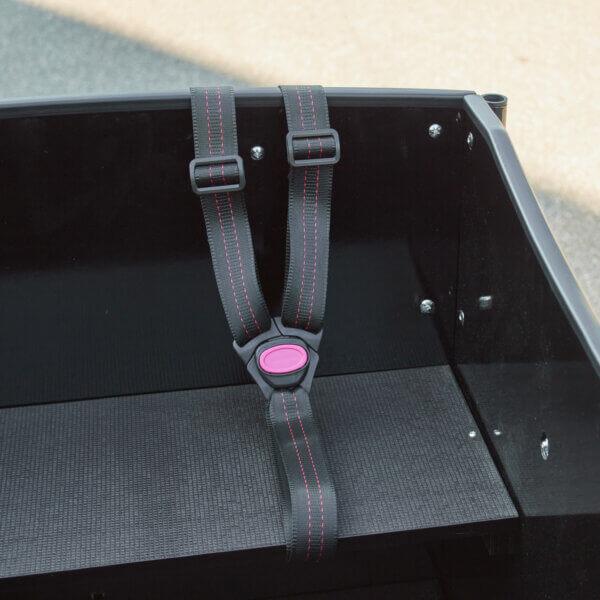 Harness for Cargo Bike – Three Point Belt (H-model) Amcargobikes