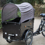 Sunroof for cargobikes Amcargobikes
