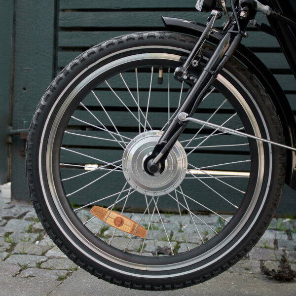 Long John front wheel Amcargobikes