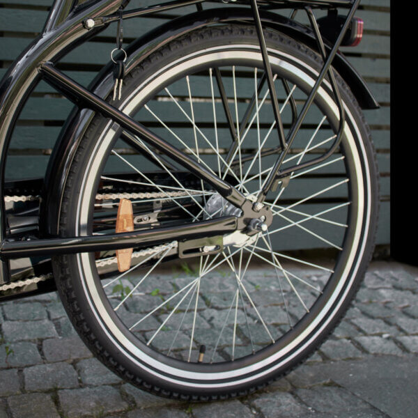 Long John back wheel Amcargobikes