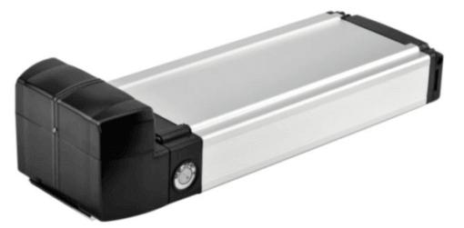 Battery 36V - 10.4 ah Li-ion - Alu. box - Silver