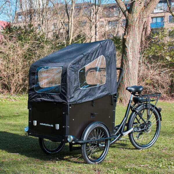 Canopy for Ultimate Curve Electric Cargo Bike
