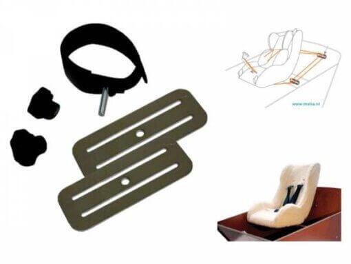 Baby Seat Mounting Bracket - Melia - Winter / Weber
