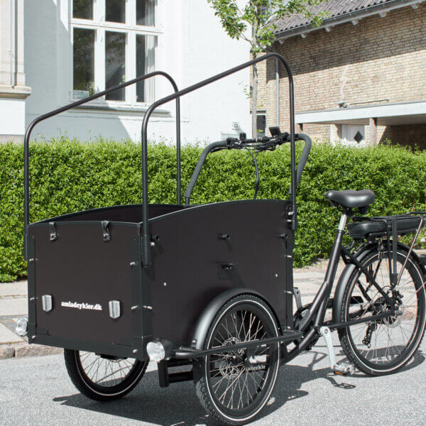 Cover Arches - Two Pieces that fits Electric Cargo Bike Ultimate Curve
