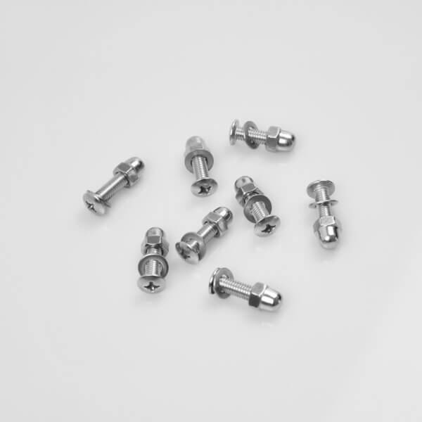 Loose bolts and screws – for Harness mounting of 4 pcs. harness
