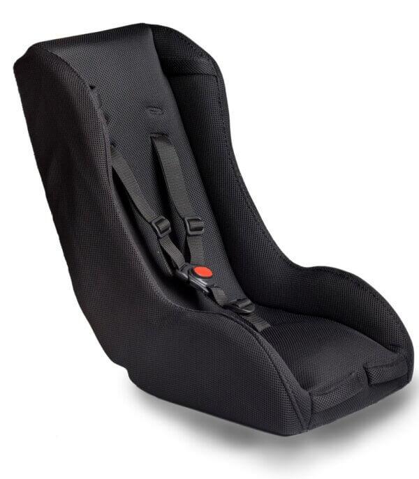 Baby seat – Melia (7-18 months) – Black version Amcargobikes