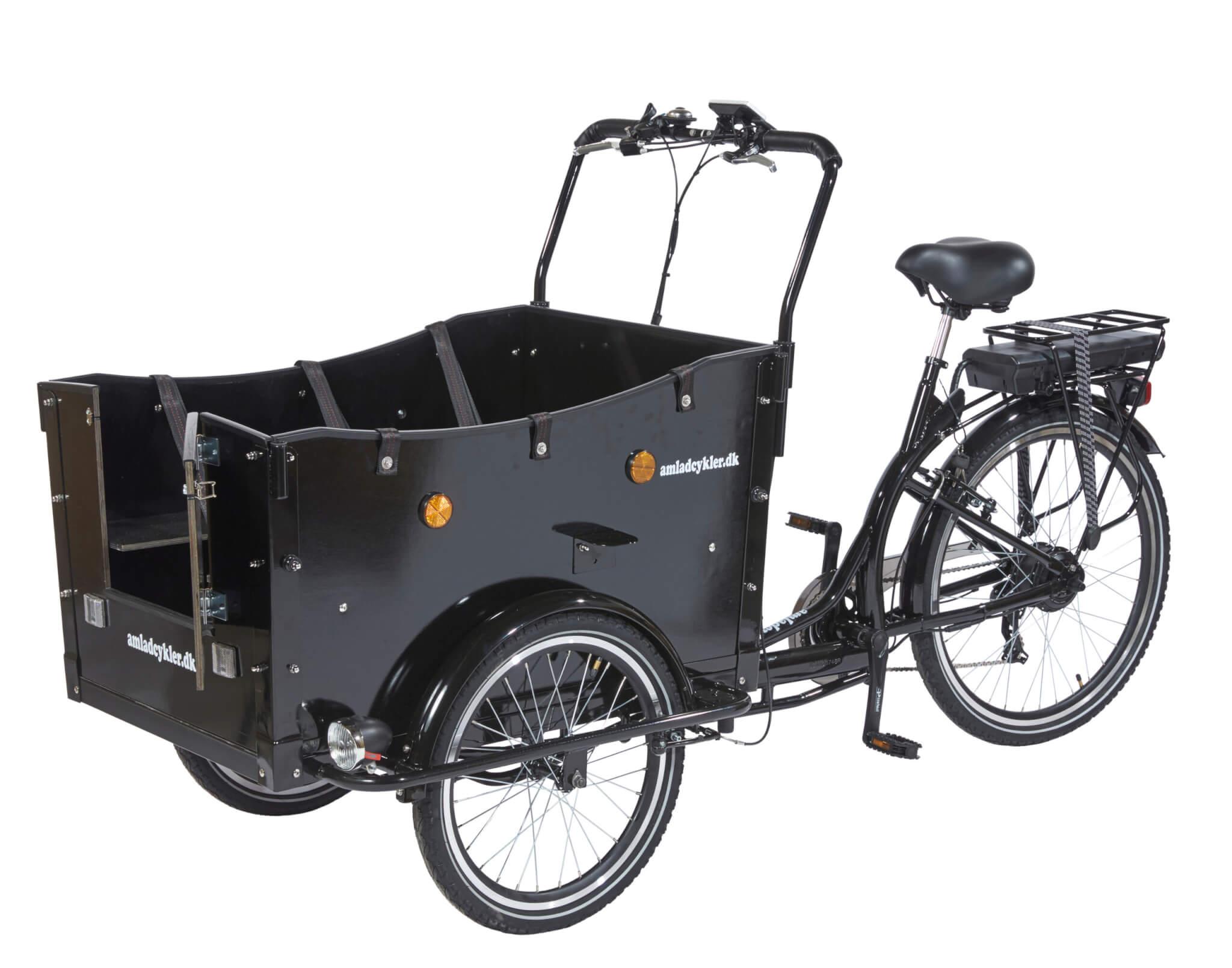 Electric Cargo Bike – Kindergarten Open - Amcargobikes