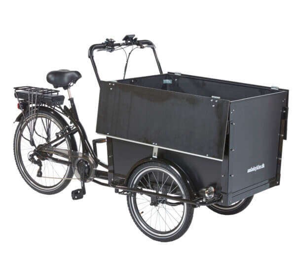 Electric Cargo Bike – Workman 2 - Amcargobikes